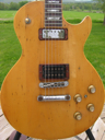 image for photo: Les Paul body closeup