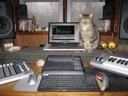 image for photo: studio desk gear